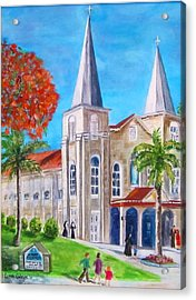 St. Mary's Catholic Church Key West Acrylic Print