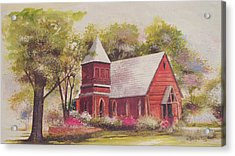 St. Mary's Chapel Acrylic Print by Charles Roy Smith