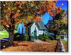 St Mary's Church Acrylic Print by Dale R Carlson