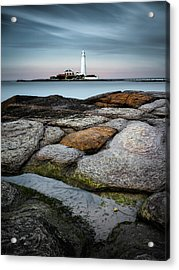 St Mary's Lighthouse Acrylic Print