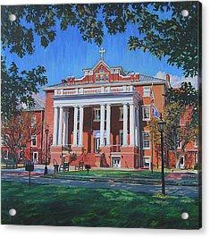 St Marys School Acrylic Print