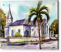 St. Matthews Church, Nassau Acrylic Print