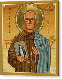 St. Maximilian Kolbe - Jckol Acrylic Print