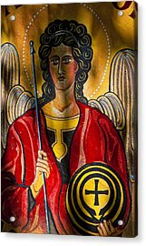 St. Michael  Acrylic Print by Robert Ullmann