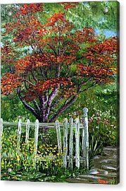 St. Michael's Tree Acrylic Print