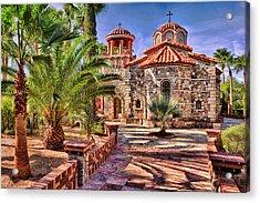 St. Nicholas Chapel Acrylic Print by Matt Suess