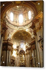 St. Nicholas Church In Prague Acrylic Print
