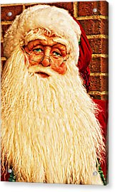 St. Nicholas Melting Canvas Photoart Acrylic Print