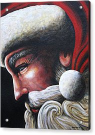 St. Nick Acrylic Print by Doug Norton
