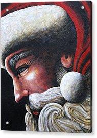 St. Nick Acrylic Print by Doug Norton