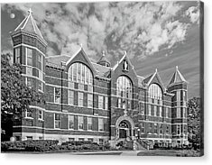 St. Norbert College Main Hall Acrylic Print by University Icons