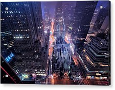 St. Patrick's Cathedral Acrylic Print