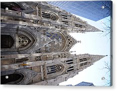 St Patrick's Cathedral Nyc Acrylic Print