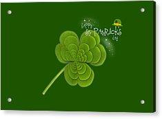 St. Patrick's Day Acrylic Print