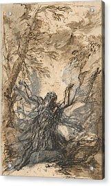 St. Paul, Hermit Acrylic Print