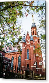 Acrylic Print featuring the photograph St Paul's Cathedral In Downtown Birmingham by Shelby Young