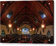 St Pauls Church Acrylic Print by Larry Simanzik