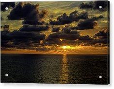 St. Pete Sunset Acrylic Print