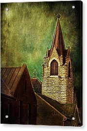St Peter's By Night Acrylic Print