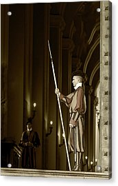 Acrylic Print featuring the photograph St Peters Square by John Hix