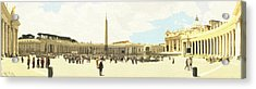 St. Peter's Square The Vatican Acrylic Print