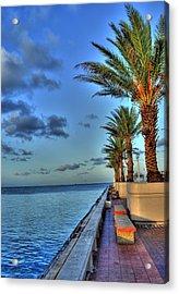 St. Petersburg Pier Tampa Bay Acrylic Print