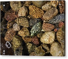 Pete's River Rocks Acrylic Print