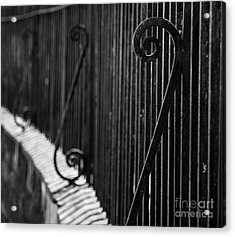 St. Philip's Episcopal Church Cemetery Iron Fence Acrylic Print