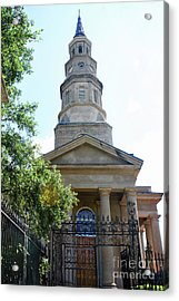 St. Phillips Episcopal Church, Charleston, South Carolina Acrylic Print