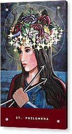St. Philomena Acrylic Print