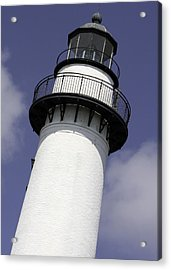St Simons Island Lighthouse Acrylic Print by Elizabeth Eldridge