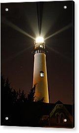 St Simons Island Lighthouse Acrylic Print by Kathryn Meyer