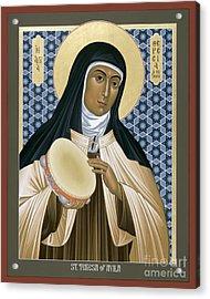 St. Teresa Of Avila - Rltoa Acrylic Print