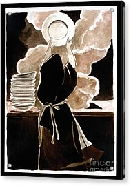 St. Therese Doing The Dishes - Mmdtd Acrylic Print