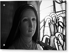 Acrylic Print featuring the photograph St. Therese Of Lisieux by Jeanette O'Toole