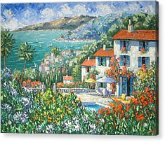 St Tropez Acrylic Print