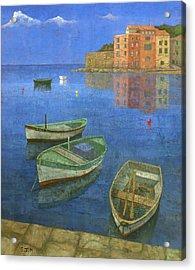 St. Tropez Acrylic Print by Steve Mitchell