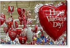 St Valentin Acrylic Print