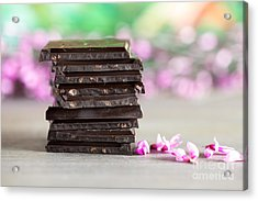 Stack Of Chocolate Acrylic Print