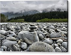 Stacked Rocks Acrylic Print