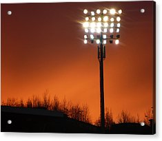 Stadium Lights Acrylic Print by RKAB Works