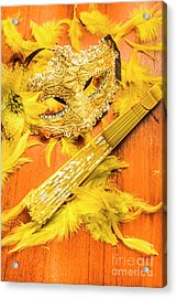 Stage And Dance Still Life Acrylic Print by Jorgo Photography - Wall Art Gallery