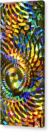 Acrylic Print featuring the photograph Stained Glass Fantasy 1 by Francesa Miller