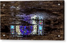 Stained Glass Reflections Acrylic Print