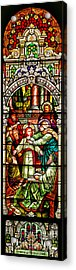 Acrylic Print featuring the photograph Stained Glass Scene 3 by Adam Jewell