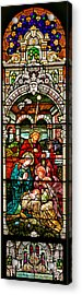 Acrylic Print featuring the photograph Stained Glass Scene 4 by Adam Jewell