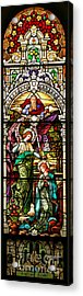 Acrylic Print featuring the photograph Stained Glass Scene 5 Crop by Adam Jewell