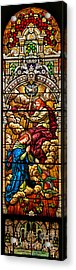 Acrylic Print featuring the photograph Stained Glass Scene 8 by Adam Jewell