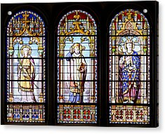 Stained-glass Windows Acrylic Print