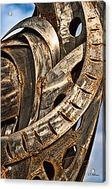 Stainless Abstract Acrylic Print by Christopher Holmes